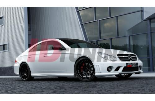 Накладки на пороги Mercedes CLS C219