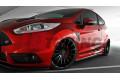 Накладки на пороги Ford Fiesta MK7 Дорестайл ST