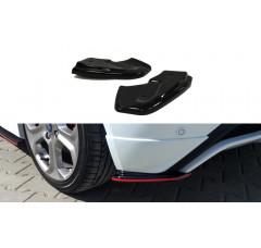 Комплект сплиттеров задних Ford Fiesta MK7 ST/ST-Line/Zetec S Рестайл