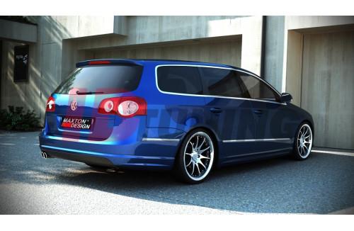 Спойлер задний Volkswagen Passat B6 (R-Line look)