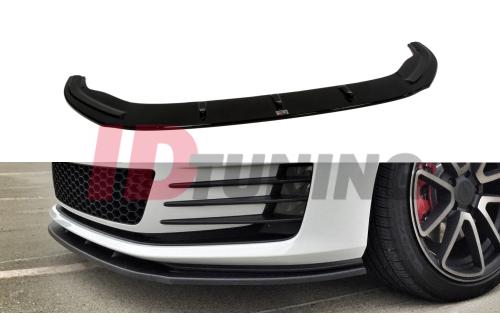 Сплиттер передний Volkswagen Golf VII GTI