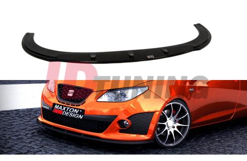 Сплиттер передний Seat Ibiza IV Cupra 6J Дорестайл