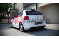 Накладка на задний бампер Volkswagen Polo mk5 GTI