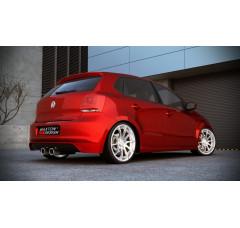 Накладка на задний бампер Volkswagen Polo mk5