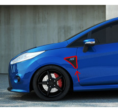Накладки на крылья Ford Fiesta MK7 (RS look)