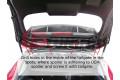 Спойлер на крышу Ford Fiesta MK7 (RS look)
