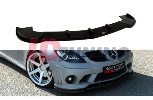 Сплиттер передний Mercedes SLK R171 (для ME-SLK-R171-AMG204-F1)