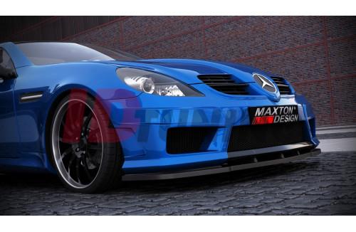 Сплиттер передний Mercedes SLK R171 (для ME-SLK-R171-AMG172-F1)