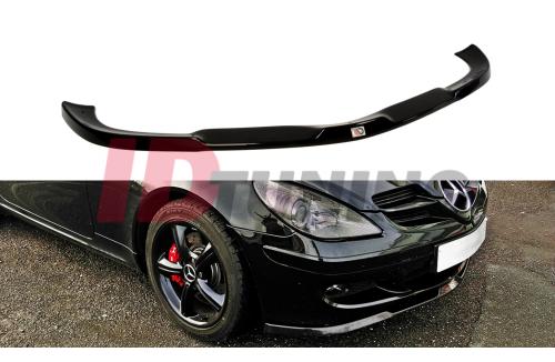 Сплиттер передний Mercedes SLK R171 (на стандартный бампер)