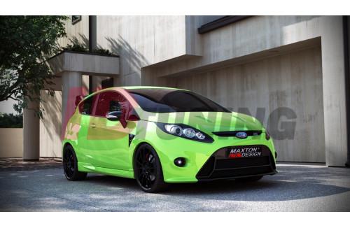 Бампер передний Ford Fiesta MK7 (RS look)