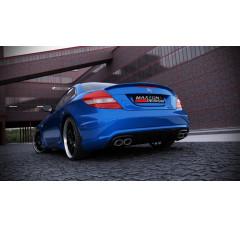 Бампер задний Mercedes SLK R171 (SLK R172 AMG look)