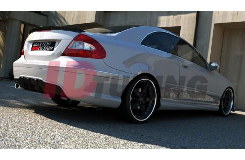 Бампер задний Mercedes CLK W209
