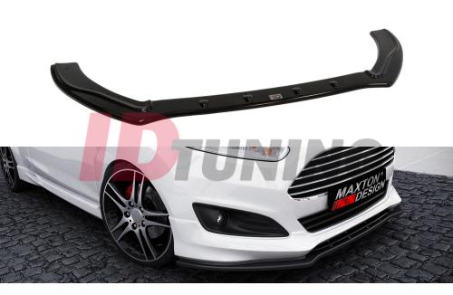 Сплиттер передний Ford Fiesta MK7 ST LINE/Zetec S Рестайл с 2013