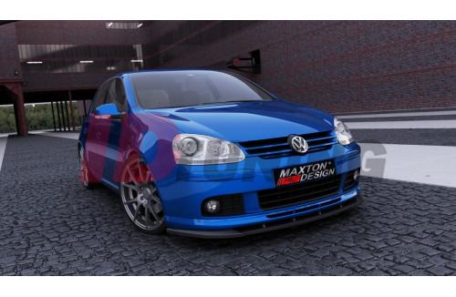 Сплиттер передний Volkswagen Golf MK5 (для передней губы Votex)