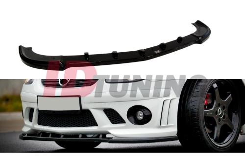 Сплиттер передний Mercedes SLK R170 (на бампер AMG 204)