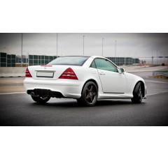 Накладки на пороги Mercedes SLK R170
