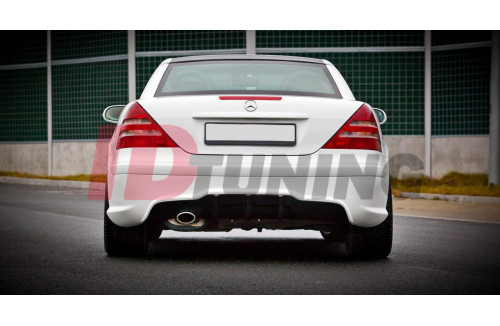 Бампер задний Mercedes SLK R170 (AMG204 look)