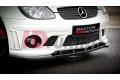 Бампер передний Mercedes SLK R170 (AMG204 look)
