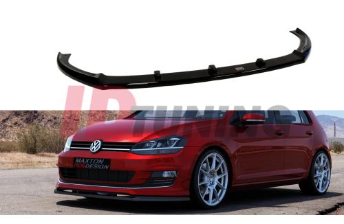 Сплиттер передний Volkswagen Golf VII (на SPORT PACK)