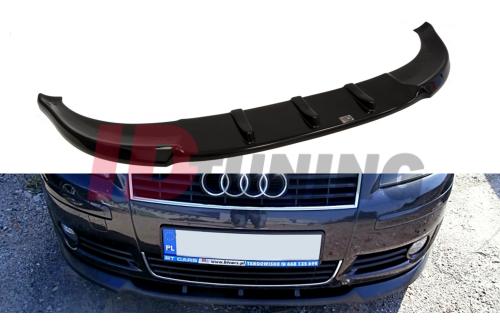 Сплиттер передний Audi A3 8P Дорестайл 2003-2005