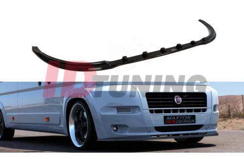 Сплиттер передний Fiat Ducato III (на стандартный бампер)