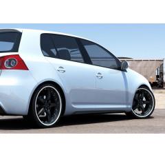 Накладки на пороги Volkswagen Golf V mk6 (GTI look)