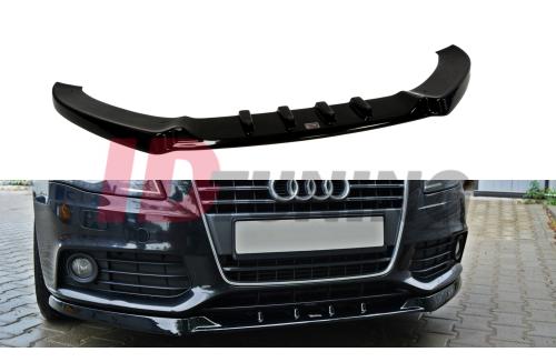 Сплиттер передний Audi A4 B8 Дорестайл вар.1