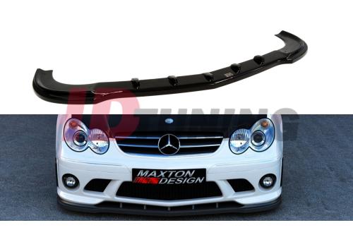 Сплиттер передний Mercedes CLK W209 (на бампер ME-CLK-209-AMG204-F1)