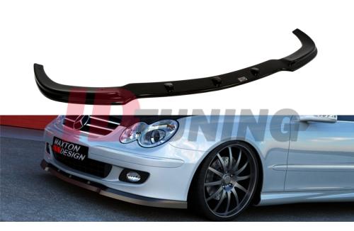 Сплиттер передний Mercedes CLK W209 Рестайл (на стандартную версию)