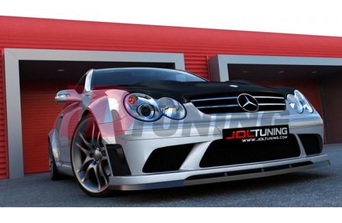 Комплект обвеса Mercedes CLK W209 (BLACK SERIES look)