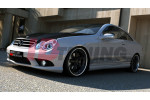Накладки на пороги Mercedes CLK W209 (AMG look)
