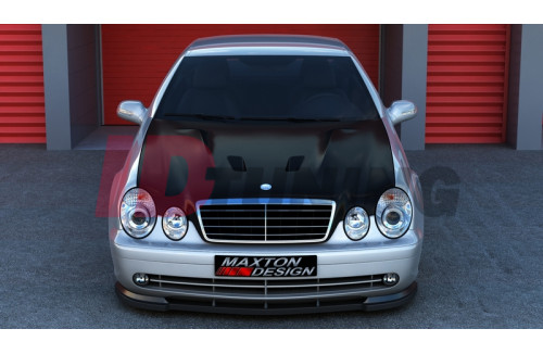 Капот Mercedes CLK W208 (AMG look)