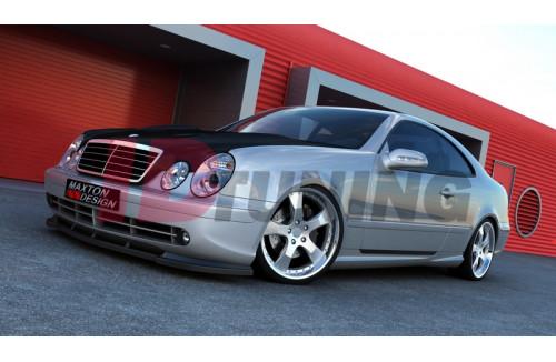 Накладки на пороги Mercedes CLK W208 (AMG look)