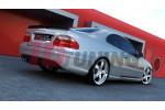 Бампер задний Mercedes CLK W208 (AMG look)