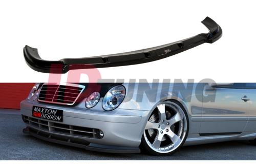 Сплиттер передний Mercedes CLK W208 (на W208 AMG)