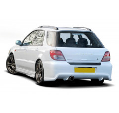 Накладка на бампер задний Subaru Impreza MK2 WRX Универсал 2001-2002