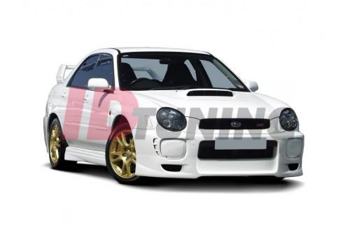 Накладки на пороги Subaru Impreza MK2