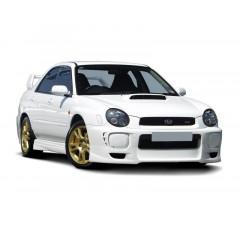 Спойлер на передний бампер Subaru Impreza MK2 WRX 2001-2002
