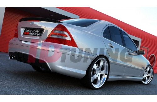 Бампер задний Mercedes C W203