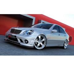 Сплиттер передний Mercedes C-Class W203 (на бампер ME-C-203-AMG204-F1)