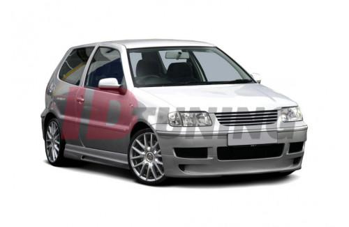 Накладка на бампер передний Volkswagen Polo III 6N2