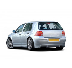 Накладка на бампер задний Volkswagen Golf IV Хэтчбек