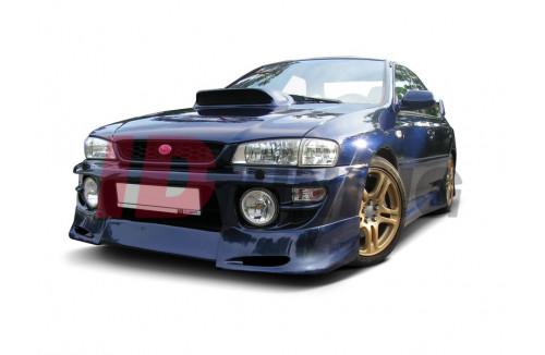 Спойлер на передний бампер Subaru Impreza MK1 1997-2000 GT/WRX/STI