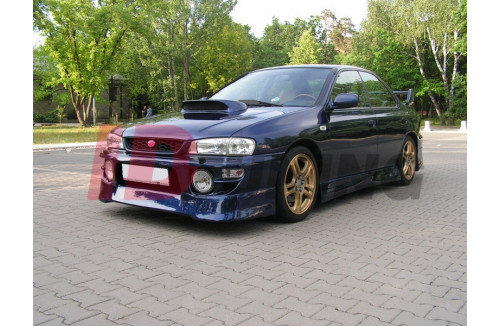 Спойлер на передний бампер J-SPEC Subaru Impreza MK1 1997-2000 GT/WRX/STI