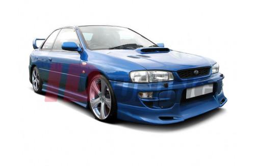 Накладки на пороги Subaru Impreza MK1