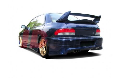 Накладка на бампер задний Subaru Impreza MK1
