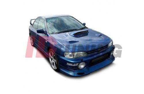 Спойлер на передний бампер Subaru Impreza 1993-1996 GT/WRX/STI