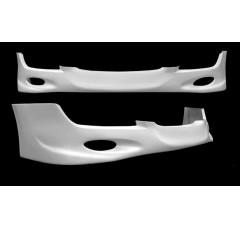 Спойлер на передний бампер Opel Astra H (5d Хэтчбек, Седан, Универсал, Рестайл)