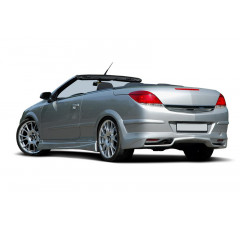 Накладка на бампер задний Opel Astra H (Twin Top)