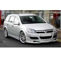 Накладки на пороги Opel Astra H (Седан & Универсал)
